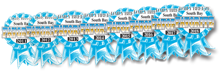 Torrance Optometry was voted the South Bay's Favorite by Daily Breeze readers 2011-2018