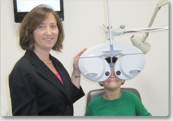 Torrance Optometry uses state-of-the-art digital phoropters for faster and more accurate eyeglass prescriptions and eye exams.