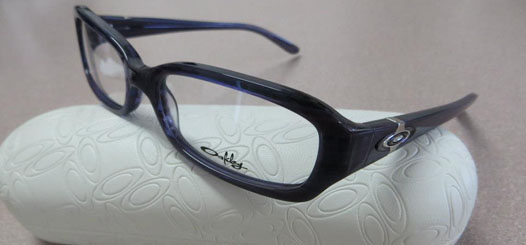 Oakley eyeglasses in our Torrance office