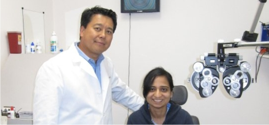 Eye examinations in Torrance with eye doctor Jae Yu at Torrance Optometry