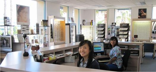 meet our friendly opticians and vision care team