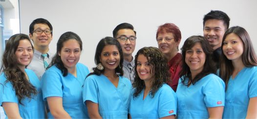 Torrance opticians and optical team