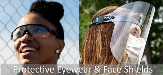 buy personal protective eyewear and face shields