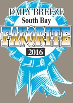 Torrance Optometry was voted South Bay's Favorite Optometrist for 2011-2016 and Favorite Eyewear Store 2014-2016 by Daily Breeze readers