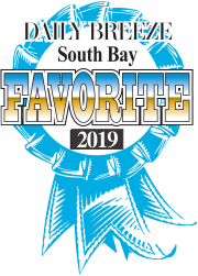 Torrance Optometry was voted South Bay's Favorite for 2011-2019 by Daily Breeze readers