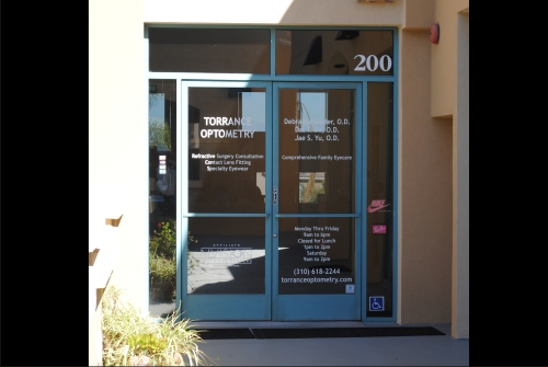 our Torrance eyecare office